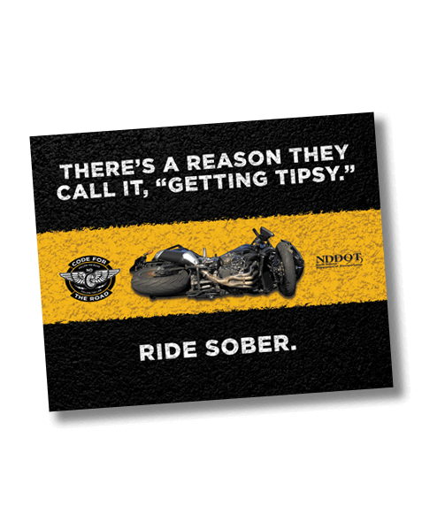 North Dakota Department of Human Services_Motorcycle Campaign_Ride Sober