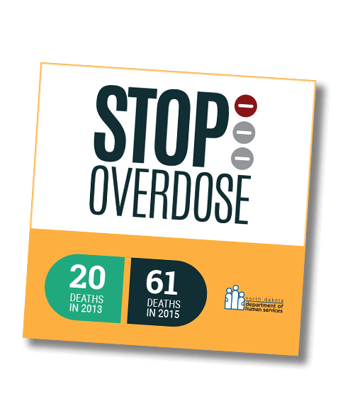 North Dakota Department of Human Services_Stop Overdose_Banner Ad